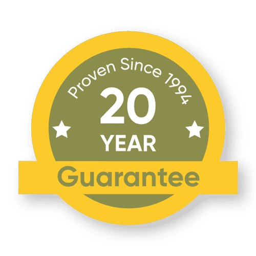 Postsaver Guarantee Sticker